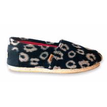 Alpargata Yute Paño Leopardo - Chimmy Churry