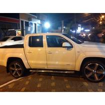 Jogo De Rodas Amarok Highline Aro 20 R33 Blazer Executiv S10
