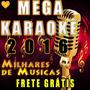 Mega Karaokê - Cante Em Casa / Dvd + Guia - Frete Gratis 12x