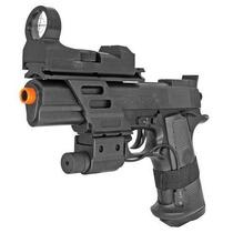 Marcadora Airsoft Bbs 6mm Spring Colt Combat Cybergun Xtreme