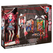 Boneca Monster High Rochelle Goyle No Circo De Horrores