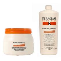 Kérastase Kit Nutri Thermique Máscara 500g + Shampoo 1 Litro