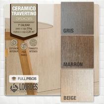 Ceramica Lourdes Travertino Gris/beige/marron 35x35 Oferta!