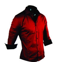 Camisa Hombre Slim Fit Entallada Elegante Sport Minimalstore