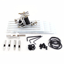 Kit Tattoo Maquina, Puntera, Agujas Y Accesorios