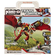 Kre-o Transformers Prime Hunters Bestia Ripclaw Set Huelga