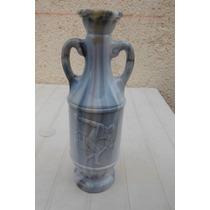 Jim Beam Whiskey Greek / Roman Decanter Bottle Botella