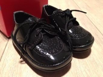 76ff57ceb Rebajados! Zapatos De Charol Negros Para Bebe Nuevos! -   200
