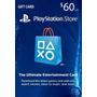 Psn Card 60 Usd - Playstation Network Card Ps4 / Ps3/ps Vita