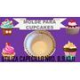 Molde Individual Cupcakes,mini Tortas, Ponque Aluminio 5x7x4