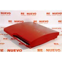 Playstation 3 Slim Roja Sony 320 Gb 2 Joystick Sin Caja