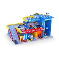 Car Service Posto E Garagem Brinquedo Infantil Junges 090