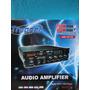 Amplificador 12v. Para Publicidad Ambulante Usb/sd Mic. 300w