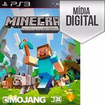 Minecraft - Ps3 - Psn - Português