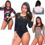 Body Bodys Dama Blusas Leguin Pantalon Vestido Braga Duayken