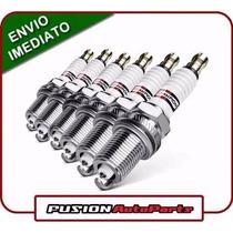 Jogo Velas Ignição Platinium Dodge Journey V6 2.7l -original