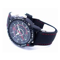 Relógio Espião Filmador 4gb Com Micro Câmera Esportivo Ekins