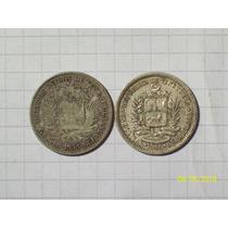 Venezuela 1 Bolivar 1935 Y 1960 Plata 10 Gr