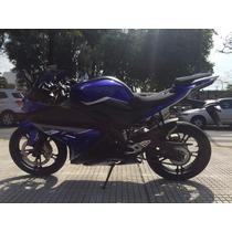 Zanella Rz25 250 Pista Sport Naked Permuto Azul Negra