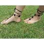 Sandalias Descalzas/adornos Artesanales Para Pies En Crochet