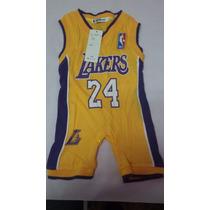 Macacao Bebe Criança Esporte Nba Lakers 1 Ano A 1 E Meio