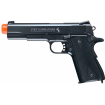 Marcadora Airsoft Co2 Colt Commander Full Metal Bbs 177 Xtre