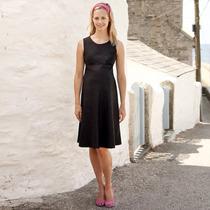 Vestido De Moda Lino Moderno Tallas Completas