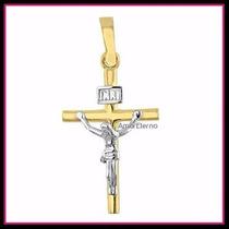 Precioso Dije De Cristo En Oro 10k Solido Solido