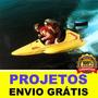 Promoção 2 Projetos Mini Lanchas De Corrida Frete Grátis