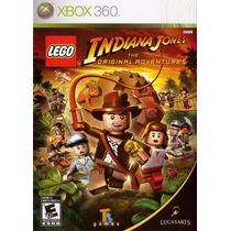 Lego Indiana Jones The Original A Game X360 3.0 Frete Grátis