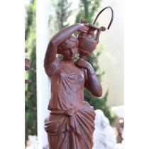 Chafariz Deusa - Fonte Para Decoração De Casa E Jardim