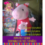 Peluche De Peppa Pig Y George 20cm. Mayor Y Detal