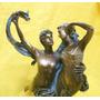 Adorno Estatua Alegórica Sobre El Amor.