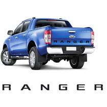 Adesivo Letreiro Tampa Traseira Ford Ranger 2012 A 2015