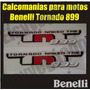 Calcomanias Para Moto Benelli Tornado Tnt 899