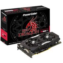 Placa De Vídeo Radeon Rx 470 Powercolor Red Dragon 4gb 256bi