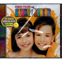 Cd Sandy E Junior Vamos Pular - Novo Lacrado Raro!!