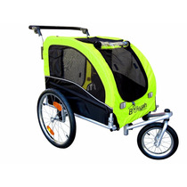 Carro Para Perro Booyah Large Pet Bike Trailer Dog Stroller