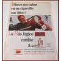 Dante42 Publicidad Antigua Retro Cigarros Lm 1965