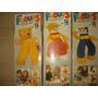Antiguos Muñecos/peluches,floufs Nuevo Y S/uso,dec Del 80/90