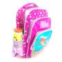 Mochila Criança Menina Compartimentos Resistente + Garantia