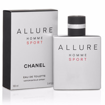 Allure Sport Chanel Caballero 100 Ml Nuevo Original Garantía