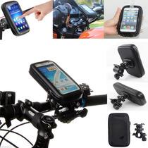 Soporte P Celular Universal Contra Agua Touch Bici O Moto