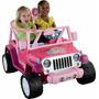 Jeep Wrangler Barbie Fisher Price.