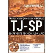 Apostila Preparatória Tj-sp 2017- Escrevente Téc. Judiciário