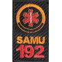 Patchs Personalizados-etiqueta Bordada Samu -padrão Nacional