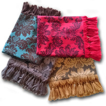 Manta Decorativa Para Sofá Em Tecido Jacquard 1,80m X 1,40m