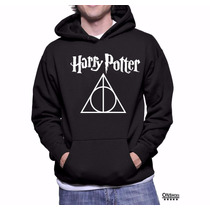 Blusa Moletom Harry Potter Capuz Bolso