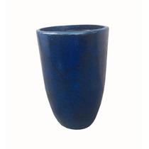 Vaso Urânio Grande Fibra De Vidro Estilo Cerâmica Vietnamita