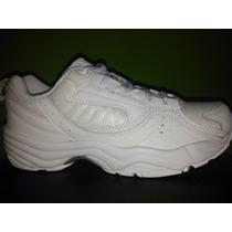 Zapatos Deportivos Todos Blancos Escolares O Militares
